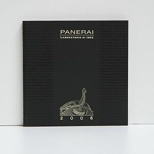 PANERAI-LIBRO-BOOK-CATALOGO-BLOCKET-CATALOGO-CATALOGO-ANO-2006