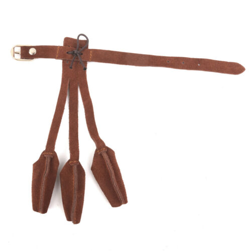 Three Finger Suede Leather Glove Traditional Archery Longbow