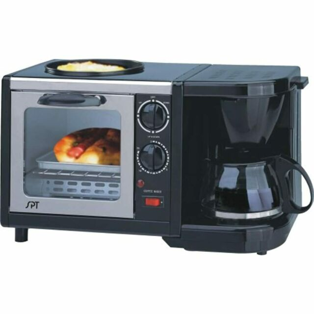 Toaster Oven Grill Coffee Make Combo