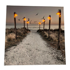 7-LED-Light-Up-HD-Seashore-Beach-Scene-Wall-Home-Decor-Canvas-Picture-Gift-Art