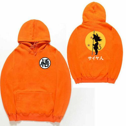 Dragon Ball Z Goku Kame Symbol Cosplay DBZ  Hoodie Cosplay Cotton Jacket