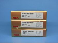Nsk 7014a5tynsulp4y Abec 7 Super Precision Spindle Bearings Matched Set Of 3
