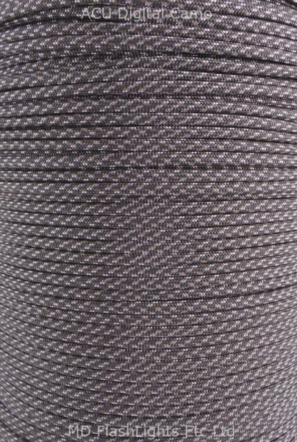 550 PARACORD 7 INNER STRANDS MIL SPEC TYPE III BUSHCRAFT SURVIVAL EDC