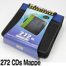 272 ST. CDs DVDs BLUERAY DISK DISC MAPPE CD PORTFOLIO ORGANISATOR NEYLON WALLET