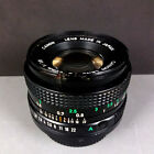 Canon FD New 50mm f/1,8 Objetivo Normal + Tapas F1 A1 AE-1
