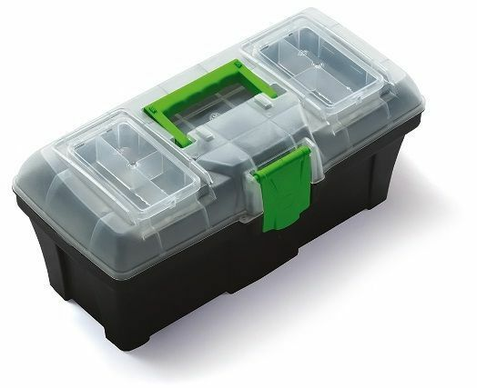 Angelbox Werkzeugkoffer Werkzeugkiste Werkzeugkasten Werkzeugbox N12G Greenbox