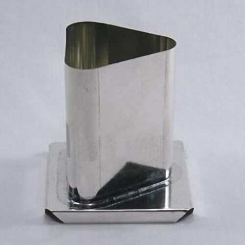 3 inches x 4 inches TRIANGLE Round Corners Candle Mold