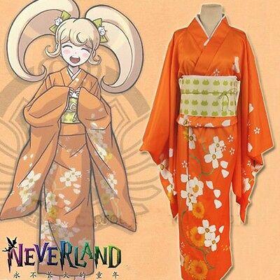 Dangan Ronpa/Sayonara Zetsubou Gakuen Saionji Hiyoko Cosplay Kimono Costume