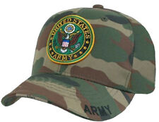 "WOODLAND CAMO /"" ARMY /"" Supreme Hat Military Low Profile Adjustable Cap 8288"
