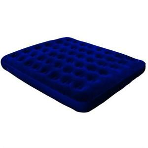 Queen Size Inflatable Air Bed Camping Mattress Blow Pump Up Guest