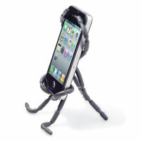 Spider Flexible Grip Holder Stand Mount For Iphone Samsung Htc Phone Black
