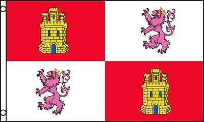 3x5 Spain Lions Lion and Castles Castle Castile Premium Quality Flag 3/'x5/'