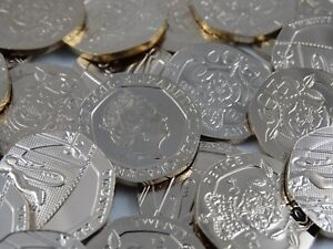 Royal-Mint-Uncirculated-20p-Coins-1982-To-2019-Twenty-Pence-Coins