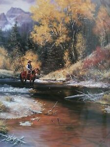 Into The High Lonesome, Jack Sorenson, 12X16 print, western, open ed. lithograph