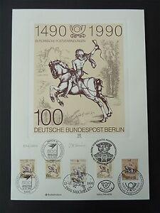 PHILARTES-EDITION 1990 BUND BERLIN DDR AUSTRIA BELGIEN DÜRER PFERD HORSE z1087
