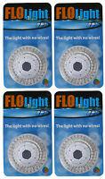 4) Led Swimming Above Inground Pool Flo Lights Wireless Universal Return 4 Pack on sale