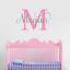Personalizado-Chicos-Chicas-Guarderia-Dormitorio-Pared-Adhesivo-Calcomania-vinilo-pared-arte-inicial miniatura 5