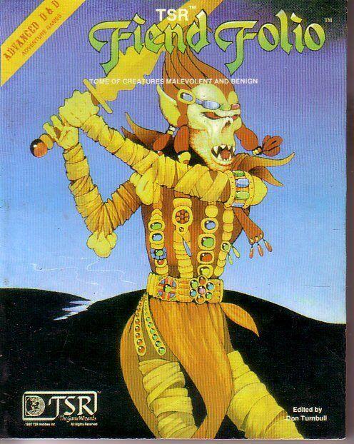 Fiend Folio Mini Manuale 25   anniversario TRS AD&D Advanced Dungeon & Dragons