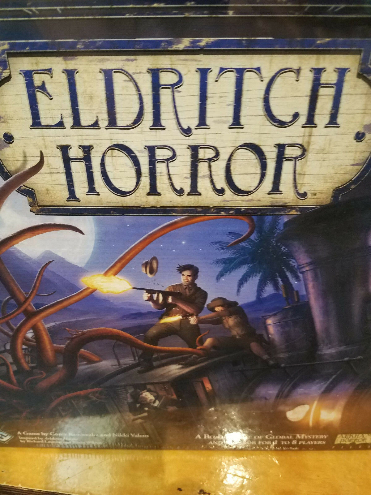 Eldritch Horror Core Base Set - Fantasy Flight Board Game New