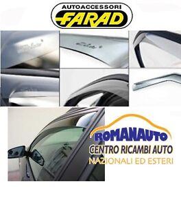 DEFLETTORI ARIA FARAD FIAT BRAVO dal 2007 al 2014 5 porte ANT. (Antivento)