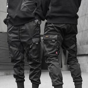 Trousers Cargo Street Tactical Pants Fashion Harem Black Hip Hop Joggers Men