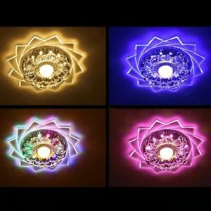 Modern-Crystal-LED-Ceiling-Light-Fixture-Aisle-Hallway-Pendant-Chandelier-Lamps
