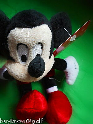 """❤ Mickey Mouse Plush Toy ❤ 10"""" Tall DISNEY *   💕 Be My Valentine 💕"""