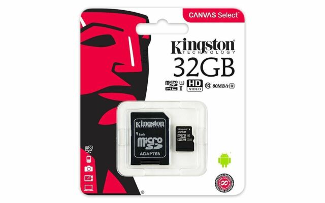 32GB Kingston Micro SD Original Memory Card for Garmin Drive 51 LMT-S SAT NAV