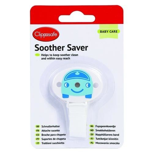 NO MORE LOST DUMMIES DUMMY PACIFIERS SOOTHER SAVER IN BOYS BLUE Quick Dispatch