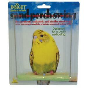 DICKY-BIRD-TOYS-SMALL-SAND-PARROT-PERCH-SWING-FREE-POSTAGE-ORDERS-50