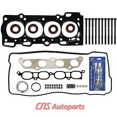 FOR 03-06 TOYOTA PONTIAC VIBE GT 1.8L DOHC VVTLi HEAD GASKET W/ BOLTS KIT 2ZZGE