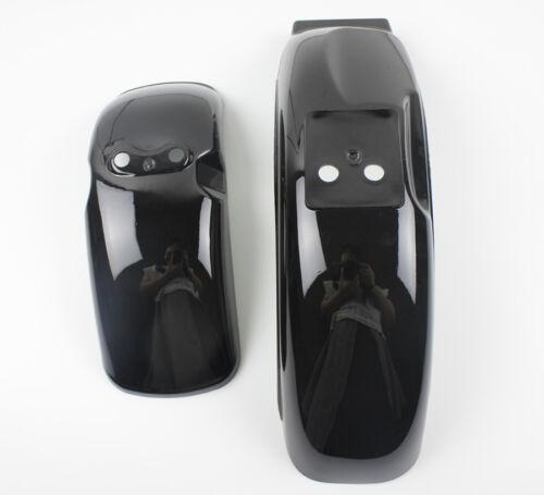 """Black Front Fender Rear Fender For 8/""""//10/"""" Honda Monkey Z50 Z50R Skyteam Z50 Bike"""