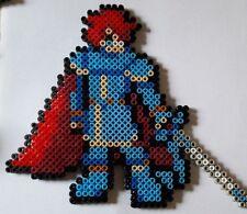 Eliwood (Fire emblem) - Bead sprite perler pixel art - Perles à repasser