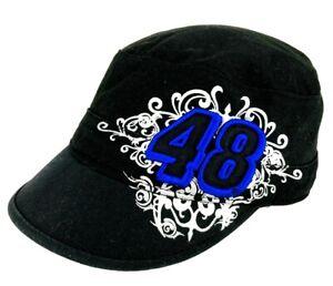 Chase Authentics Jimmie Johnson Nascar Racing Team 48 NASCAR Womens Hat Black