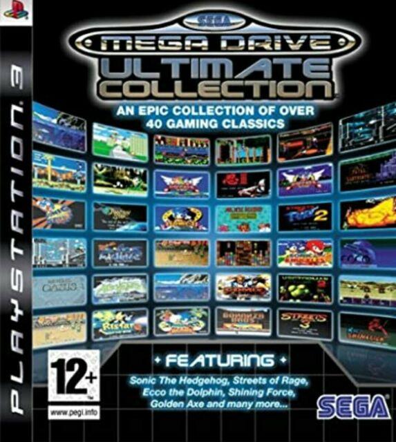 Sega Mega Drive: Ultimate Collection (Sony PlayStation 3, 2009)