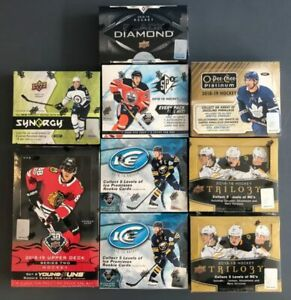 1-HOCKEY-BOOSTER-FACTORY-SEALED-RANDOM-ALL-SETS-2000-2019-NHL-1-PACK