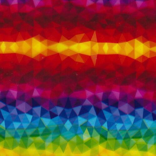 Hydrographic Water Transfer Hydro Dip Film Rainbow Kaleidoscope Film 1SQ
