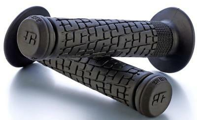 JetBlack Tack BMX Bike Pistol Handlebar Grips Grip Jet Black BLUE