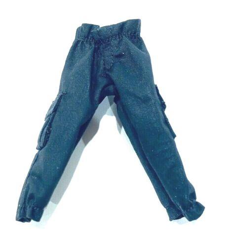1//12 Noir Pantalon cargo pour Marvel Legends taille moyenne corps aucune Figure Bruce Lee-jeu jouet-G