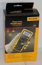 Fluke 177 True Rms Digital Multimeter 6000 Count Dmm With Backlight New