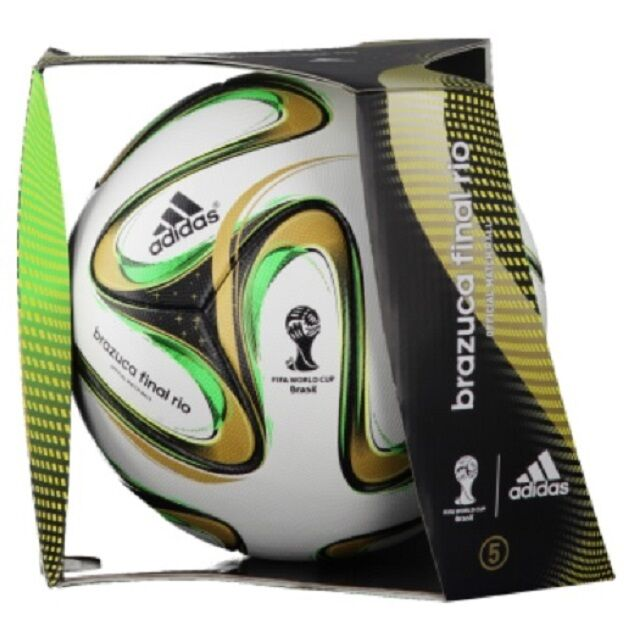 Matchball Adidas Brazuca Final Rio    Deutschland Fußball 4b0cc7