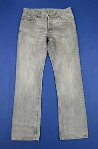 Helmut-lang-jeans-uomo-usato-denim-W32-tg-46-grigio-luxury-top-boyfriend-T6615