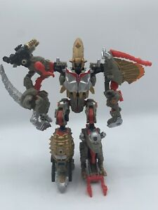 Hasbro Transformers Power Core Combiners Grimstone with dinobots Complete