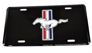 Ford Mustang USA Nummernschild License Plate Deko Blech Schild Blechschild Pferd