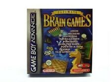 Ultimate Brain Games for Game Boy Advance CHESS CHECKERS MAHJONG BACKGAMMON