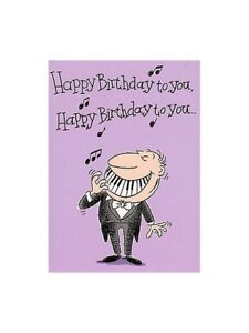 Image Is Loading Music LOVER Gallery Adult Male Birthday Card IDEA