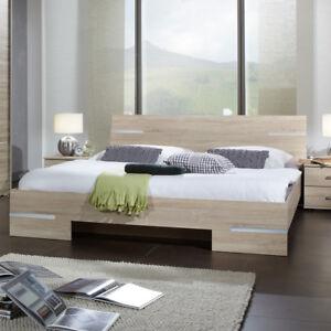 Futonbett Anna 160x200 Bett In Sonoma Eiche Sägerau Mit