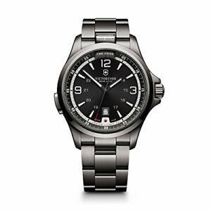 Victorinox-241665-Swiss-Army-Night-Vision-Black-Ice-PVD-Steel-Mens-Watch