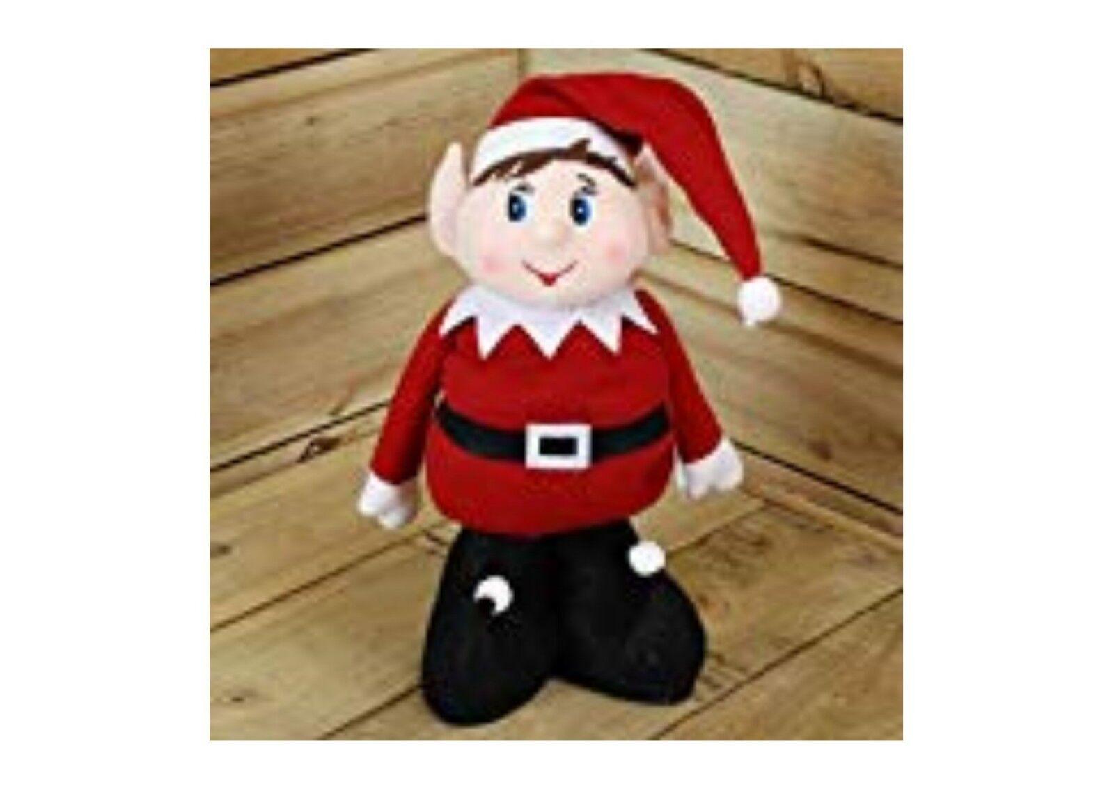 Elfos behavin 'mal Elfo con patas ampliación de Navidad Navidad Navidad Decoración 18