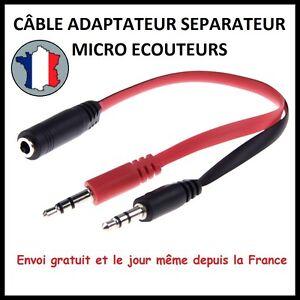 CABLE-ADAPTATEUR-AUDIO-ECOUTEUR-CASQUE-MICRO-PRISE-FICHE-3-5MM-JACK-MALE-FEMELLE
